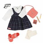 Deluxe dukketøj, skoleuniform
