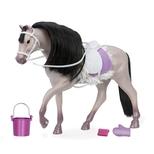 Lori hest, grå