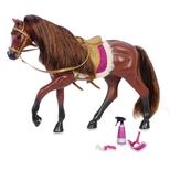 Lori hest, brun