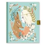 Lovely Paper Lucille dagbog med lås