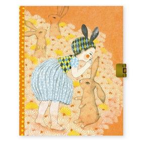 Lovely Paper Elodie dagbog med lås