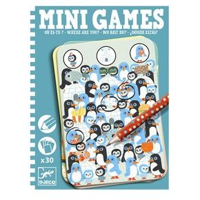 Mini Games, hvor er du?