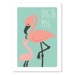 Studio Circus plakat, Flamingo A4