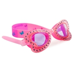 Svømmebrille, sommerfugl pink