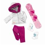 Deluxe dukketøj, snowboard