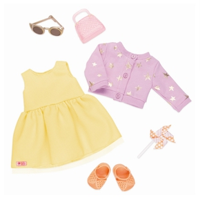 Deluxe dukketøj, sommerkjole
