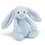 Bashful Kanin, lyseblå stor 36 cm