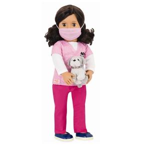 Our genration dukke, dyrelæge Paloma