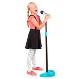Mikrofon m/holder og lysshow