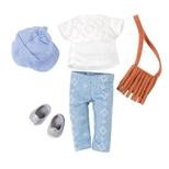 Lori Dukketøj, Jeans & taske
