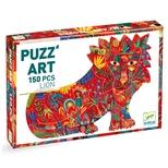 Puzzárt, løven 150 brikker