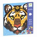 Kreativ mosaik, Tiger & gorilla