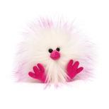 Crazy Chick Pink & Hvid, 11 cm