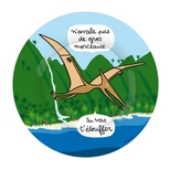 Dino tallerken, Flyveøgle
