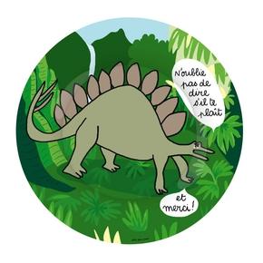 Dino tallerken, Stegosaurus