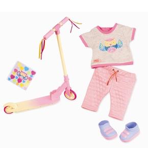 OG Deluxe dukketøj, Løbehjul pink