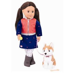 OG Dukke, Leslie med hund