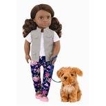 OG Dukke, Malia med hund