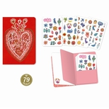 Lovely Paper Aurelia stickersbog (79 stk.)