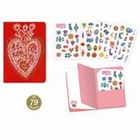 Lovely Paper Aurelia stickersbog (79 stk.)