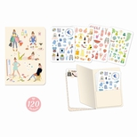 Lovely Paper Tinou stickersbog (120 stk.)