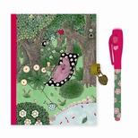 Lovely Paper Fanny dagbog med lås og magisk pen