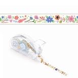 Lovely Paper dekorativ tape, blomster