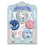 Lovely Badges - Badges, Heste