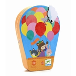 Silhuetpuslespil, Luftballon - 16 brikker