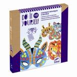 DIY - Jungledyr masker, mosaik
