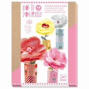 DIY - Blomst m/vase, Retrochic