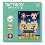 Factory - E-paper sæt, Robotter