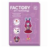 Factory - E-textil sæt, Broche kanin pige