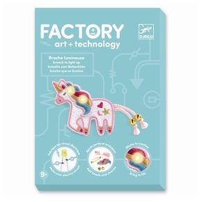 Factory - E-textil sæt, Broche enhjørning