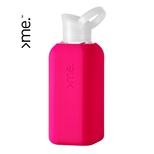 >me flaske i glas, pink