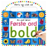 De små lærer - Skriv og visk ud - Første ord