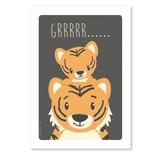Tiger postkort