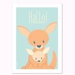 Kænguru postkort