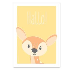 Hallo! Bambi postkort