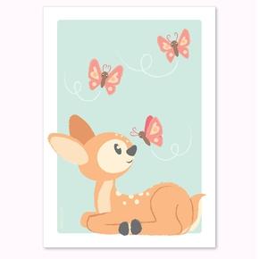 Bambi plakat, A4