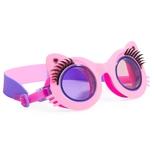 Svømmebrille, Kat med øjenvipper