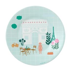 Paris Pastel tallerken, Triumfbuen
