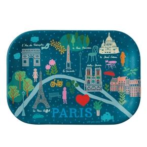 Paris Pastel bakke, Blå