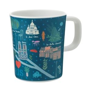 Paris Pastel kop, Blå