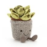 Amuseable Silly Sukkulent jadegrøn, 16 cm