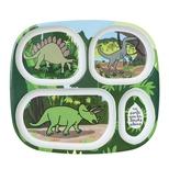Dino rumdelt tallerken