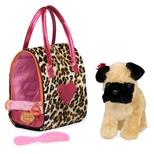 Pucci hund i Leopard taske
