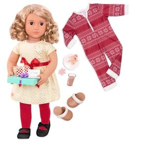 Noelle dukke med ekstra tøj