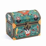 Sparebøsse, Kiste med pirater & lås