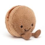 Amuseable Macaron Chokolade, 10 cm